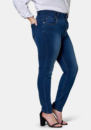 Angie 3 Button Skinny Waist Trimmer Jean
