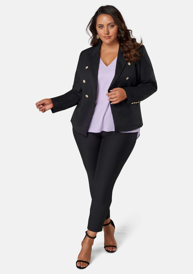 Madeleine Button Blazer