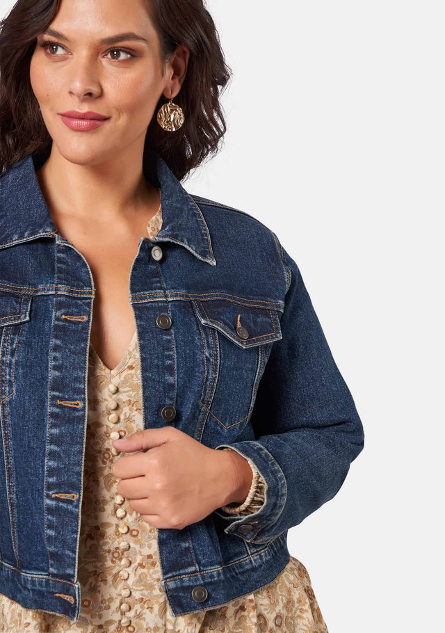 Savannah Denim Jacket