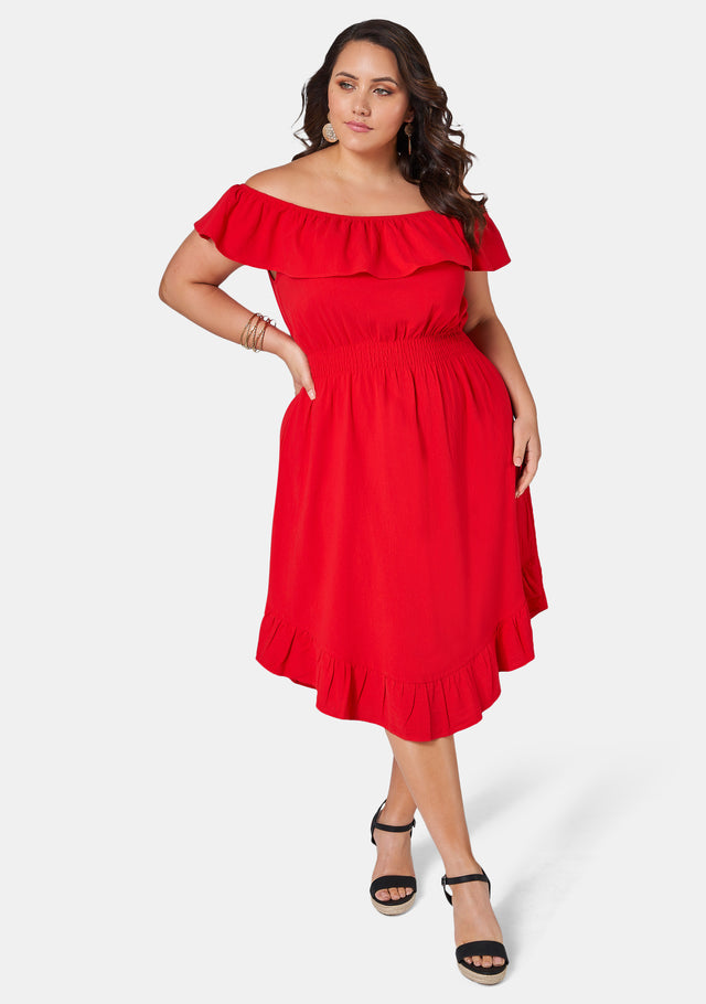 Holly Off Shoulder Dress