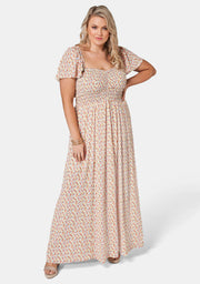 Noelle Shiired Bust Maxi Dress