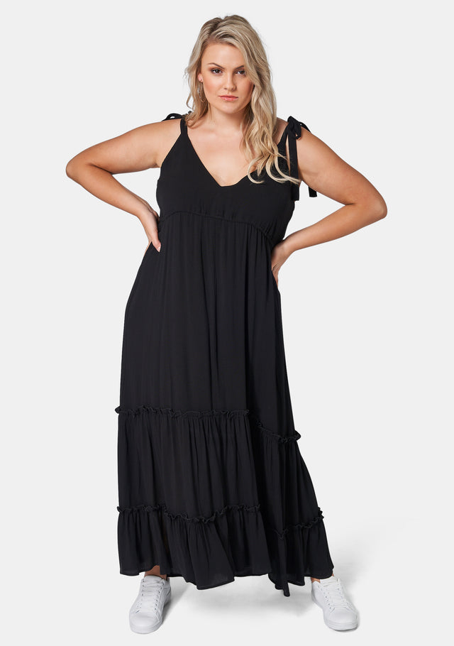 Gina Tiered Maxi Dress