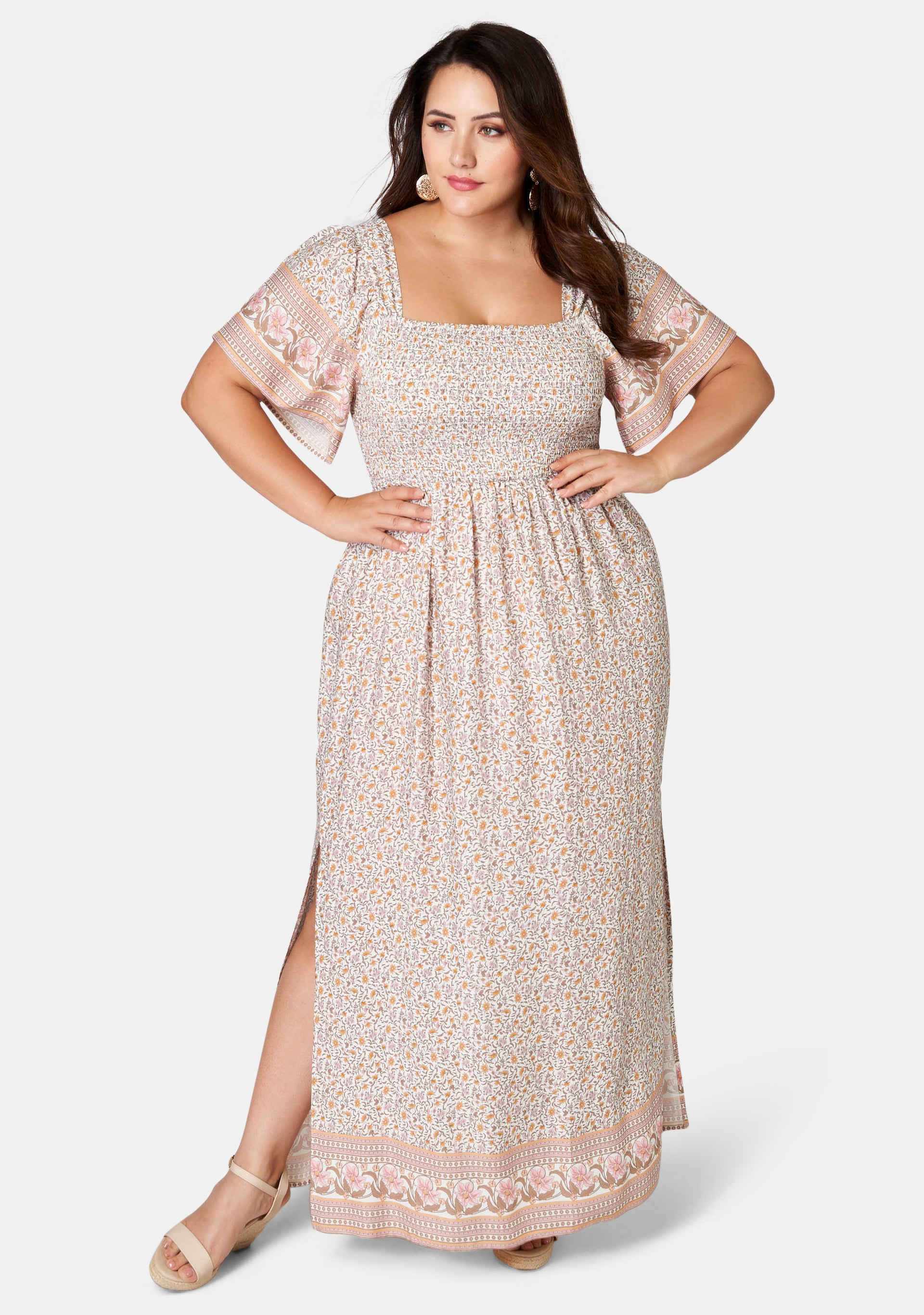 Antonella Print Maxi Dress