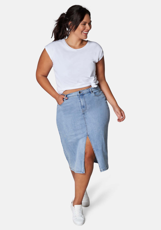Cari Denim Skirt