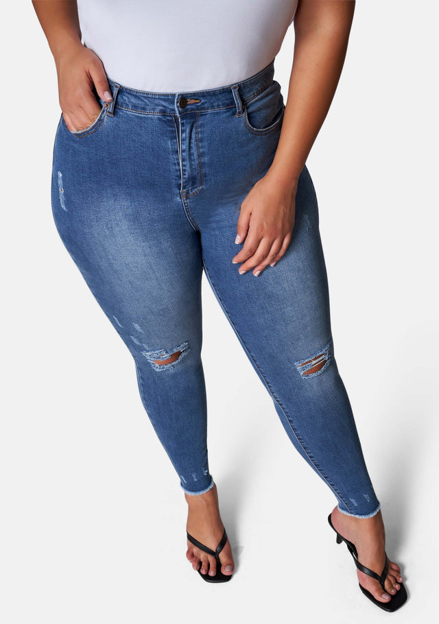 Gimme No Lip Skinny Jeans