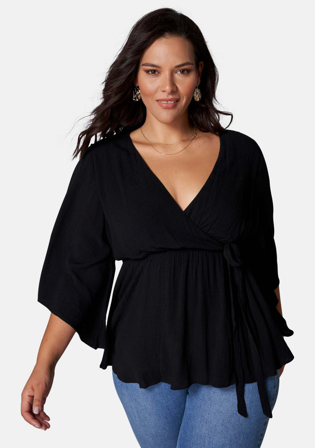 Salma Wrap Blouse