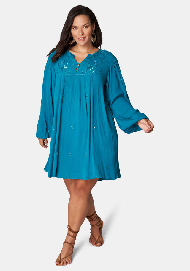 Seashore Embellished Tunic