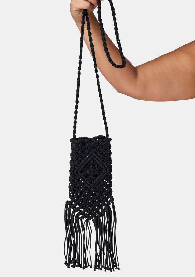 Midnight Dreams Crochet Bag
