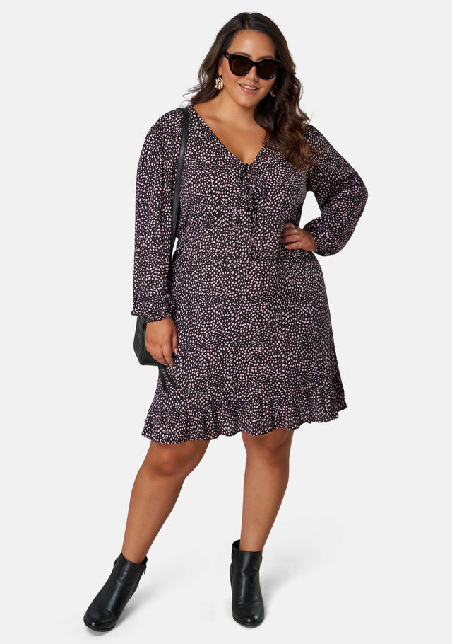 Liliana Print Midi Dress