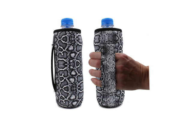 Snake Print Water Bottle or Tall Boy  Koozie
