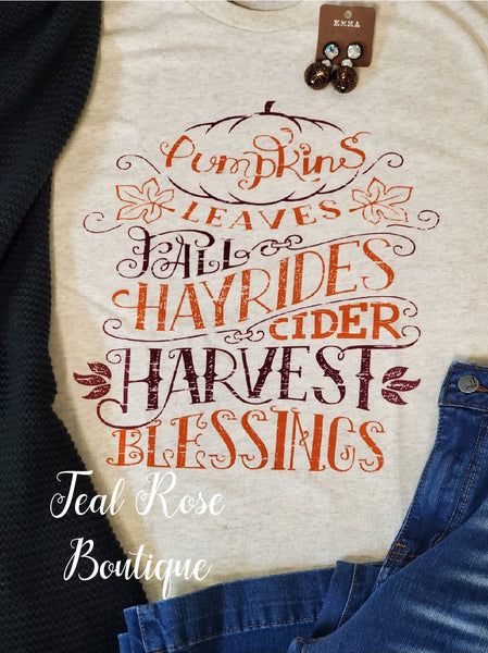 Harvest Blessings Tee