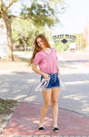 Tally Fringe Shorts