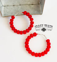 Red Rock with You Earrings