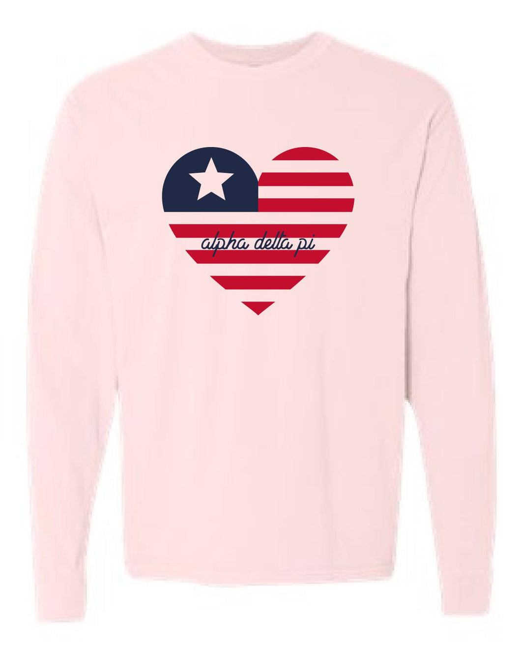 Alpha Delta Pi Long Sleeve Tee | Taylor (16)