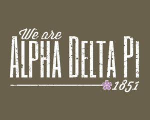 Alpha Delta Pi Long Sleeve Tee | Deedee (21)