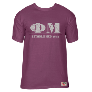 Phi Mu | Short Sleeve Tee | Grace (43B)