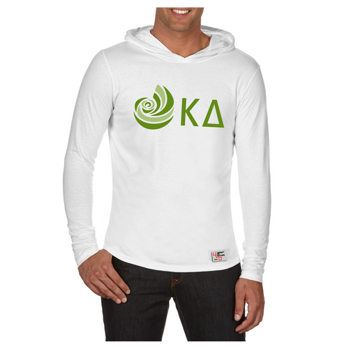 Kappa Delta | Long Sleeve Hooded Tee | Natasha (113)