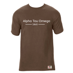 Alpha Tau Omega | Short Sleeve Tee | Cary (185)