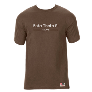 Beta Theta Pi | Short Sleeve Tee | Cary (185)