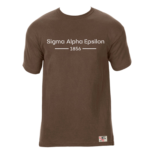 Sigma Alpha Epsilon | Short Sleeve Tee | Cary (185)