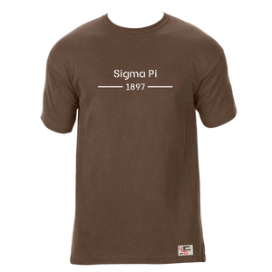 Sigma Pi | Short Sleeve Tee | Cary (185)