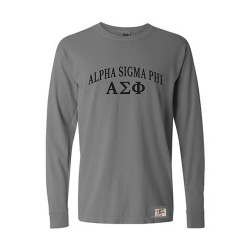 Alpha Sigma Phi | Long Sleeve Tee | Michael (186)
