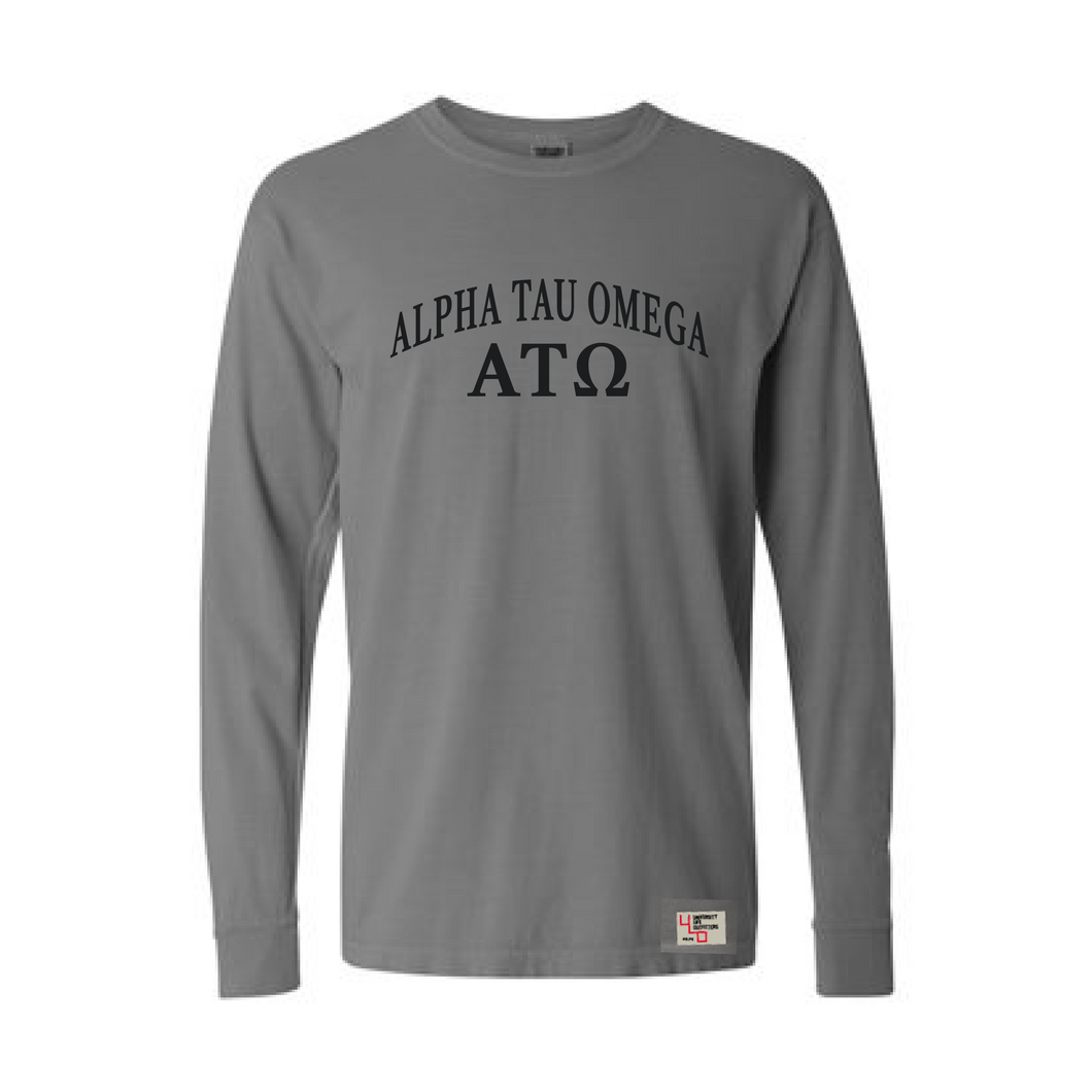 Alpha Tau Omega | Long Sleeve Tee | Michael (186)