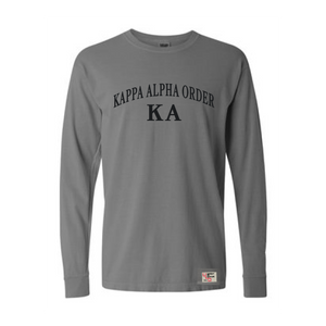 Kappa Alpha Order | Long Sleeve Tee | Michael (186)
