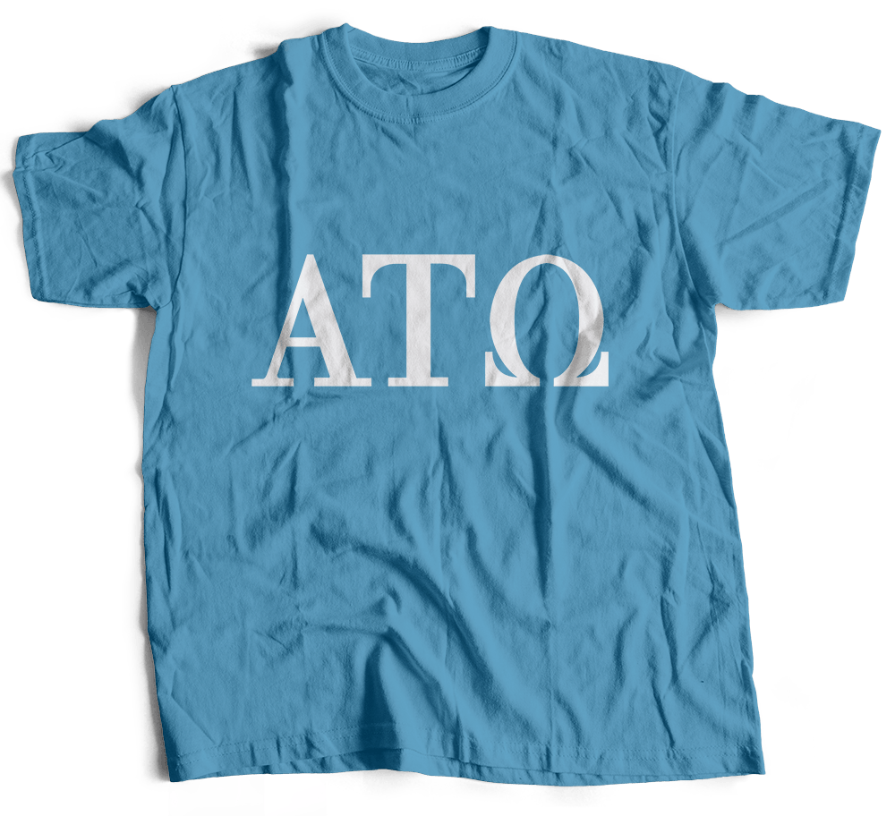Alpha Tau Omega | Short Sleeve Tee | Carter (189)