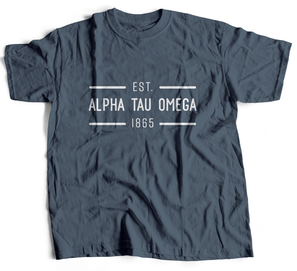 Alpha Tau Omega | Short Sleeve Tee | Harrison (204)