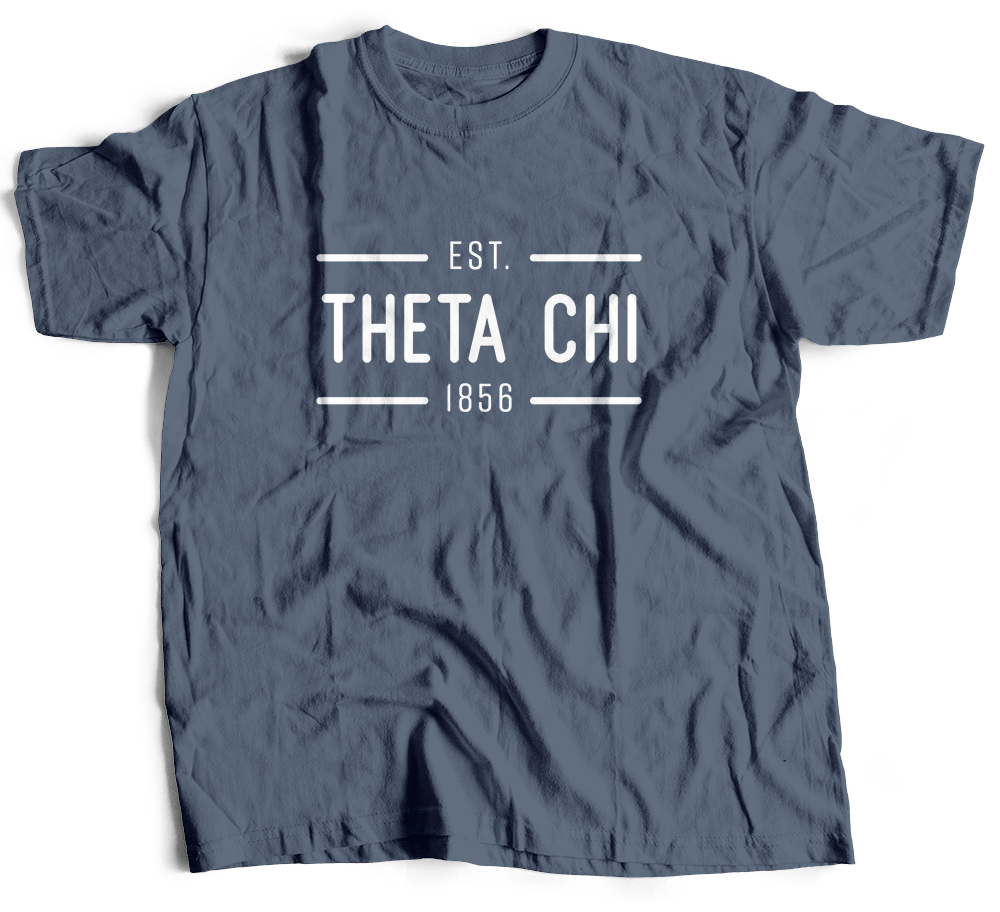 Theta Chi | Short Sleeve Tee | Harrison (204)