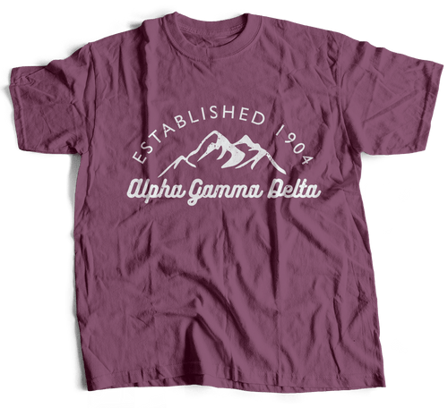 Alpha Gamma Delta | Short Sleeve Tee | SarahBeth (213)