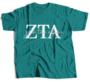 Zeta Tau Alpha | Short Sleeve Tee | Gracie (214)
