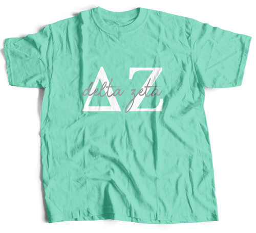 Delta Zeta | Short Sleeve Tee | Gracie (214)