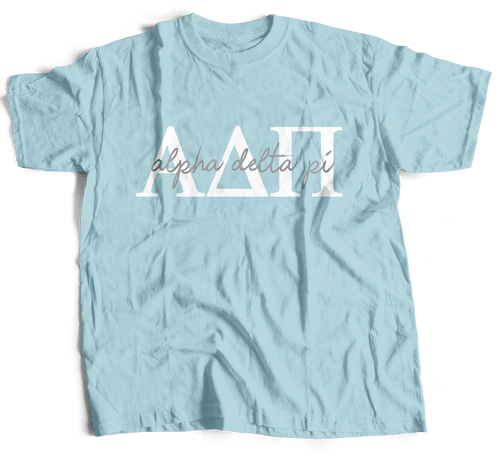 Alpha Delta Pi | Short Sleeve Tee | Gracie (214)