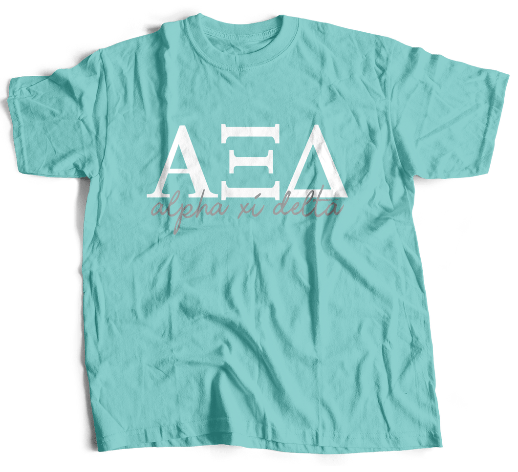 Alpha Xi Delta | Short Sleeve Tee | Gracie (214)