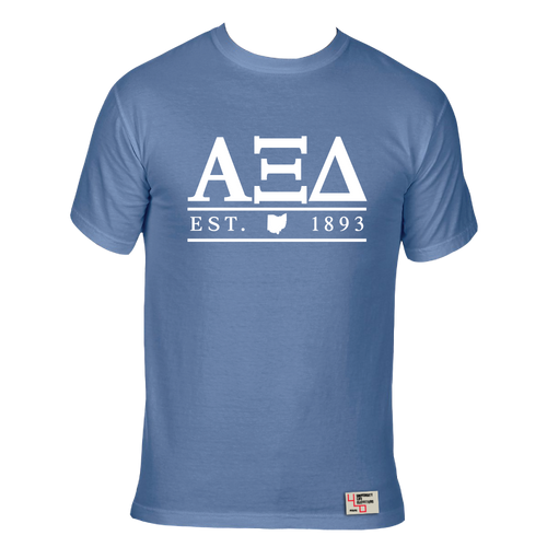 Alpha Xi Delta | Short Sleeve Tee | Paige (227-OH)