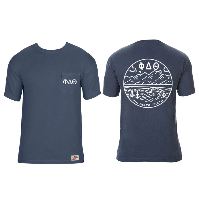 Phi Delta Theta | Short Sleeve Pocket Tee | Grant (235)