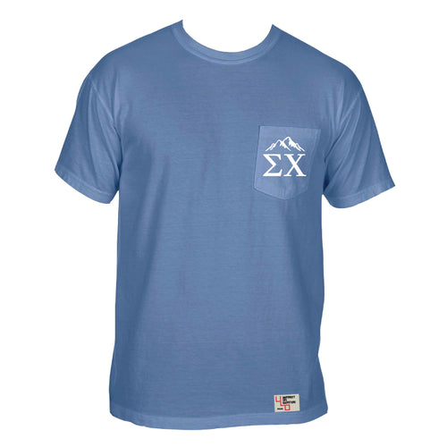 Sigma Chi | Short Sleeve Pocket Tee | Zack (241)