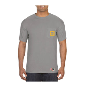 Delta Tau Delta | Short Sleeve Pocket Tee | Greg (243)