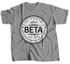 Beta Theta Pi | Short Sleeve Tee | Tim (264)