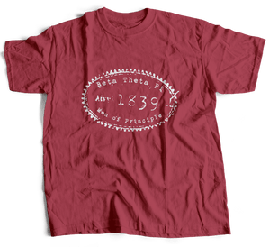 Beta Theta Pi | Short Sleeve Tee | Chris (267)