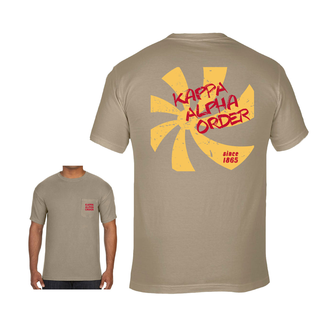 Kappa Alpha Order | Short Sleeve Pocket Tee | Xavier (278)