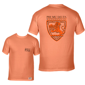 Phi Mu Delta | Short Sleeve Pocket Tee | Leo (304)