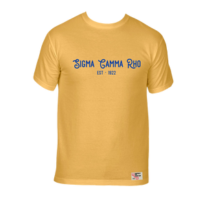 Sigma Gamma Rho | Short Sleeve Tee | Joy (307)