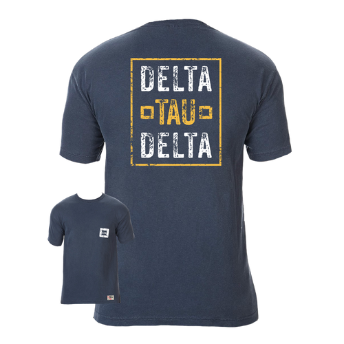 Delta Tau Delta | Short Sleeve Pocket Tee | Walter (317)