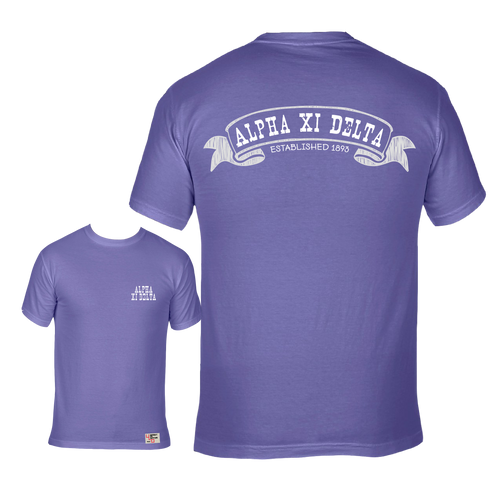 Alpha Xi Delta | Short Sleeve Tee | Betty (319)