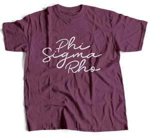 Phi Sigma Rho | Short Sleeve Tee | Molly (341)