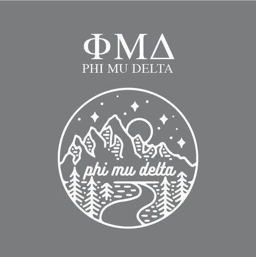 Phi Mu Delta | Short Sleeve Tee | Randy (343)