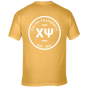 Chi Psi | Short Sleeve Tee | Ted (394)